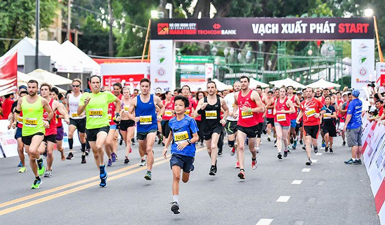 Techcombank International Marathon 2019 1